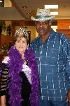 RCF Queen Mayor Katherine Freeman and Charles Adams