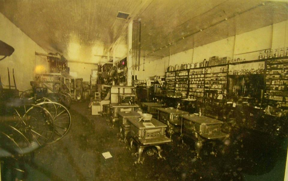 Inside of NJ Caraway Merchantile Store